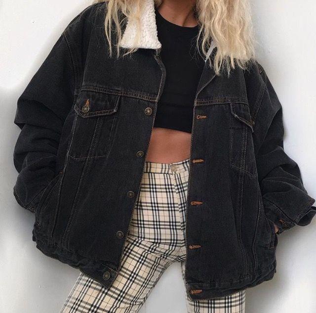 black denim jacket, chaqueta vaquera negra, veste en jean noir, fall winter outfit, fall outfit, looks de otoño, looks de otoño invierno, tenue d'automne, tenues d'automne hiver