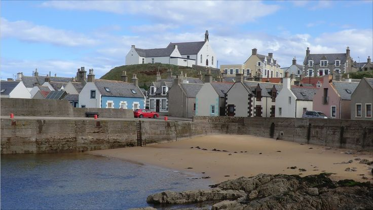 OMG.... Have so many memories playing on this beach! Findochty Harbour, Aberdeenshire, Scotland.