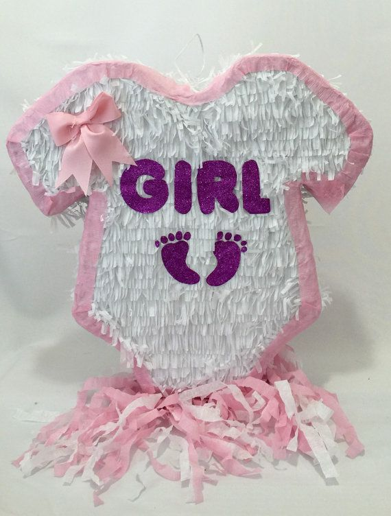 Baby Shower Pinata Baby Girl Onesie Itu0027s A By Theperfectpinata