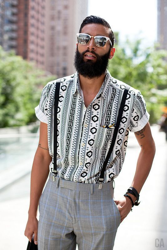 17 Dynamic Men's Suspenders Outfit Worth Watching