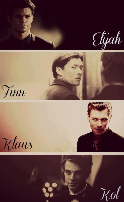 Elijah x Finn x Klaus x Kol ~ Daniel Gillies x Casper Zafer x Joseph Morgan x Nathaniel Buzolic ~ Original Family Boys