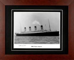 Titanic 2008 edition - Autographed and Signed by Millvina Dean