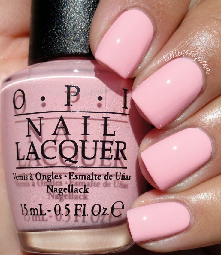 Pink Nail Polish Mini: 25+ Best Ideas About Plain Nails On Pinterest