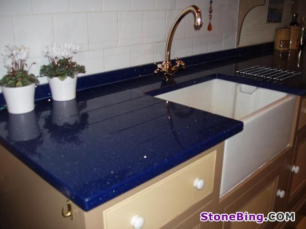 Blue Quartz Counter Cimstone Kenzak Quartz Cimstone