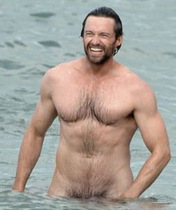 Hugh Jackman --- oh my goodness....wow