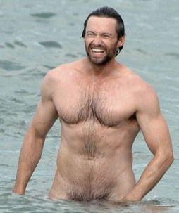 Hugh Jackman --- oh my goodness....wow