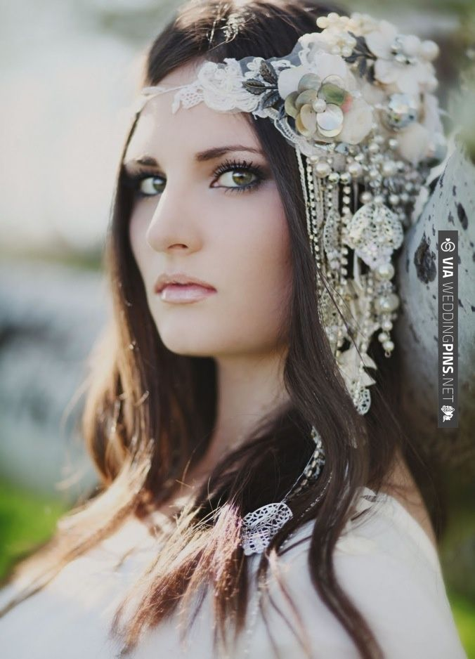amazing DIY bridal headpiece, photo by Jessica Janae Photography | CHECK OUT MORE IDEAS AT WEDDINGPINS.NET | #weddings #diyweddings #diy