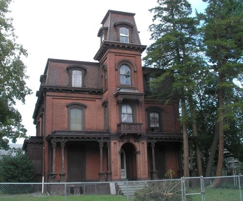 Claudius R Hayward House 361 Barnum Ave East Bridgeport 1868
