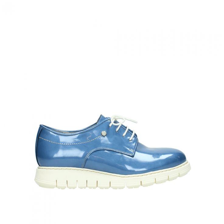 5025 DAYLIGHT, 682 denim blue patent leather