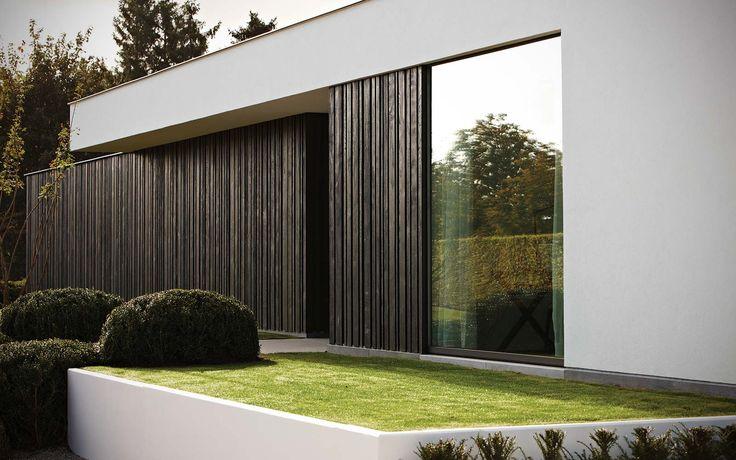 Black oak & black thermo pine | Carpentier Hardwood Solutions