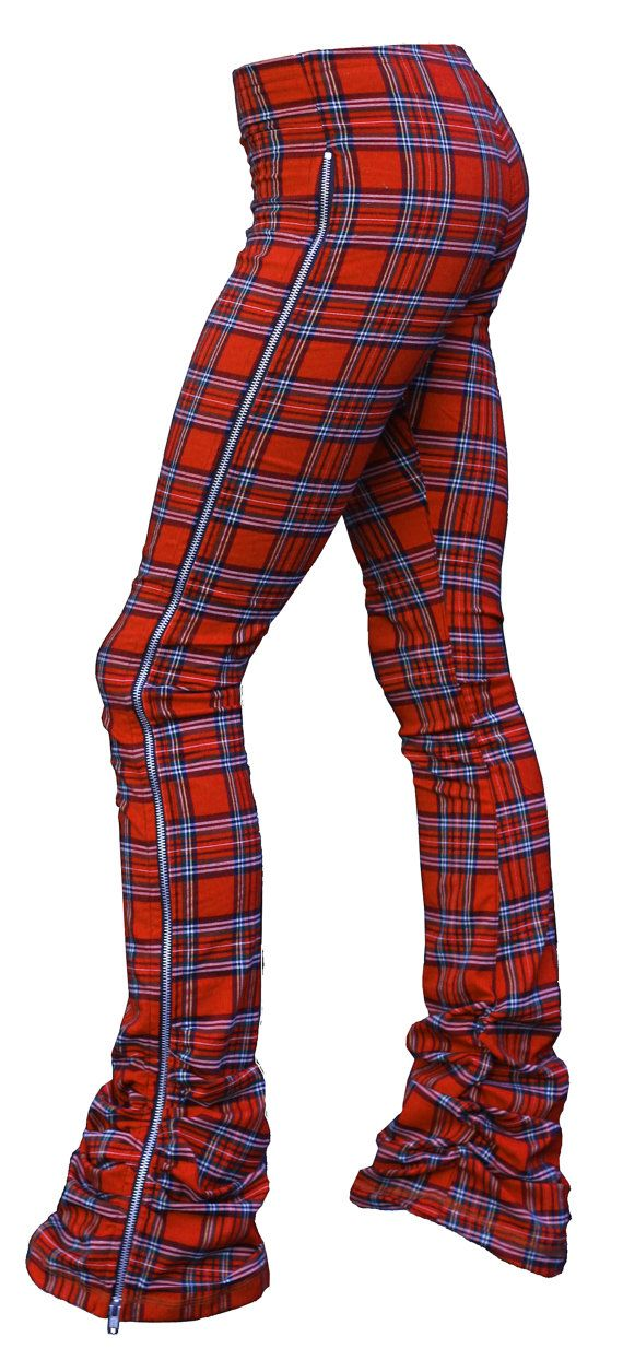 Brit Boy Zip Tartan Plaid Denim Jeggings (Leggings/Jeans) XS to XXL - Πάνω από 25 κορυφαίες ιδέες για Legging Jean στο Pinterest