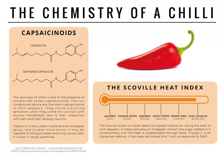 The Chemistry of a Chilli
