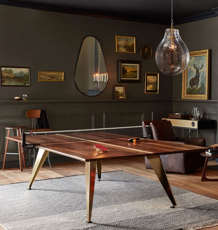 how to turn your dining room table into a ping pong over modern tables top for