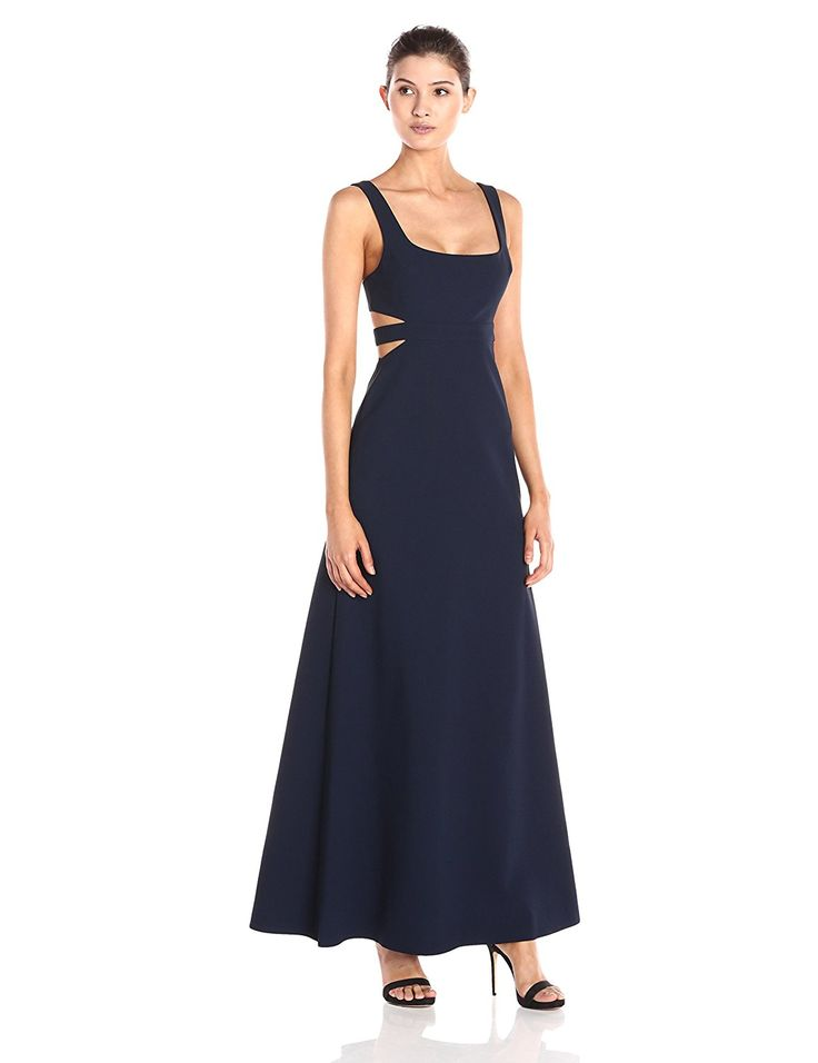 Jill Jill Stuart Women's Side Cutout Elastane Gown >>> See this great product. (This is an affiliate link and I receive a commission for the sales)