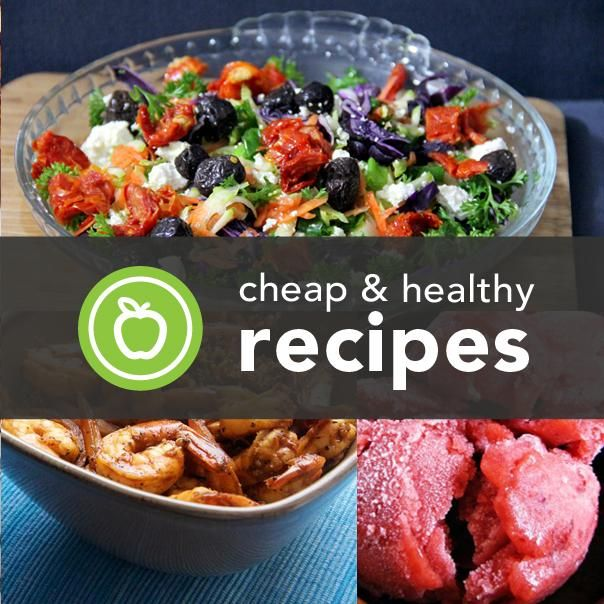 More Cheap  Healthy Recipes