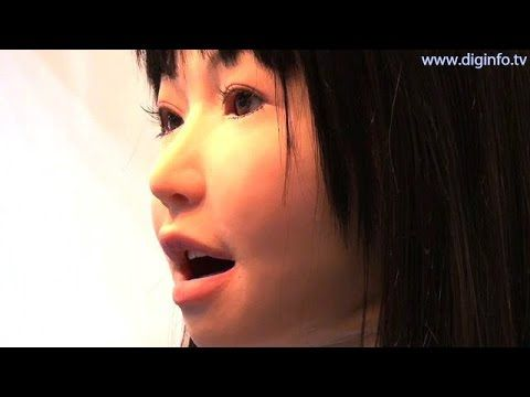 Yamaha Vocaloid robot singing using speech synthesis software #DigInfo