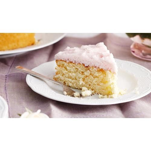 Moist coconut cake with coconut ice frosting recipe - By Australian Women's Weekly, The Weekly's Top 10 cakes - Number 6
