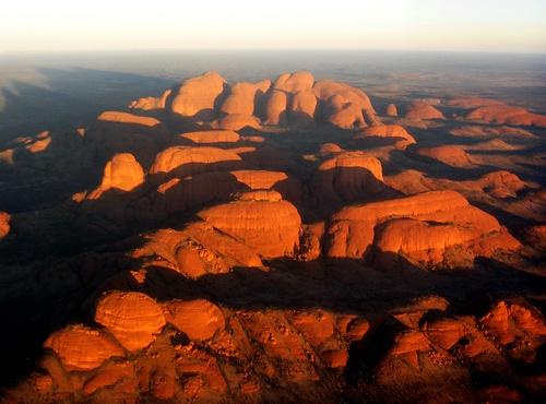 The Olgas, Uluru-Kata Tjuta National Park, Northern Territory, Australia