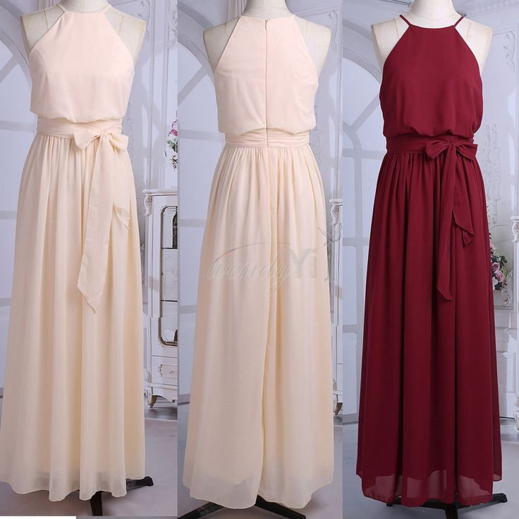 Women Maxi BOHO Long Evening Party Prom Cocktail Bridesmaid Dress Beach Dresses #Unbranded #Maxi