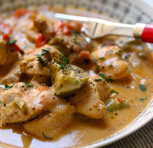 West African chicken mafé (chicken stew in peanut sauce) {gluten-free ...