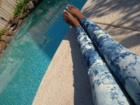 acid wash jeans...