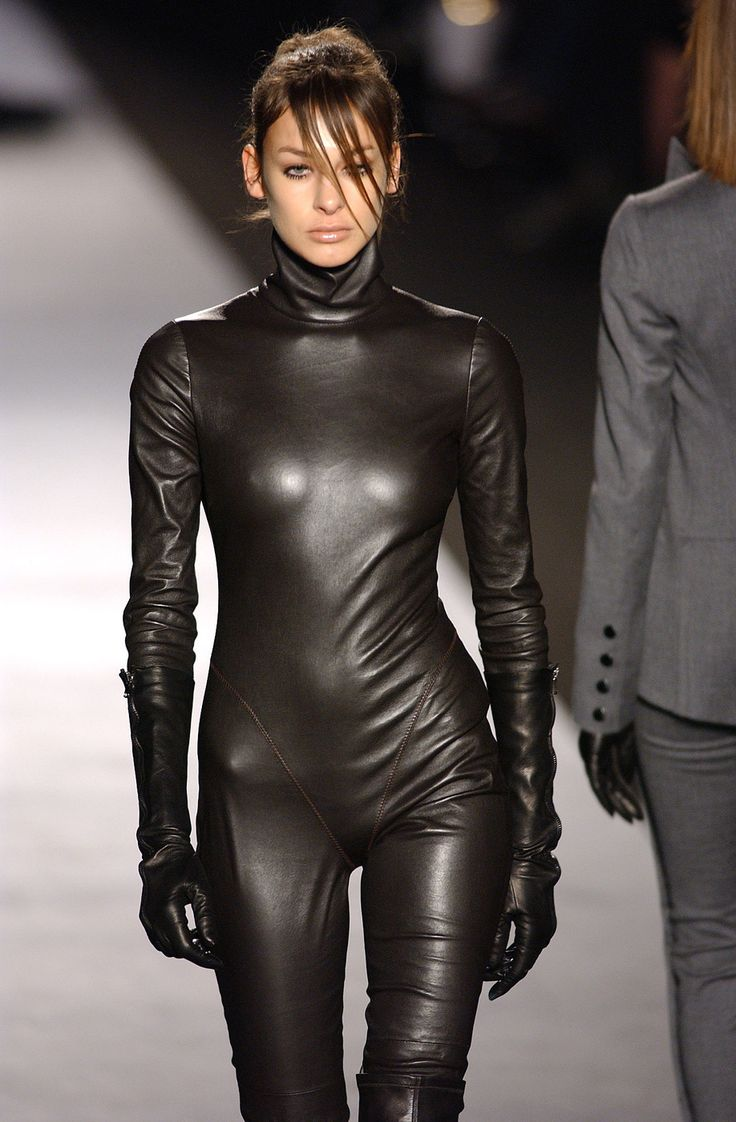 Leather Pants Embrace a daring look with leather pants. The soft texture of these pants combines with a sheen that quickly catches the light for an illuminating result.