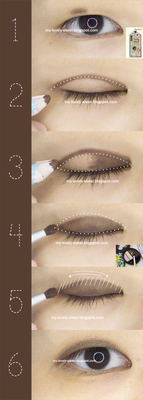 My Lovely Sister ♥ a blog with love: Thursday's Tips 46 : Simple and Natural Monolid Eye Makeup Look