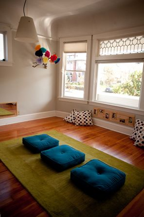 ChildRoots Center for Young Children space - love the cushions!