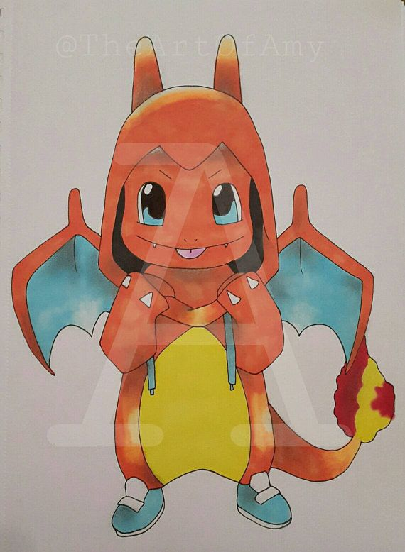 Charmander drawing  https://www.etsy.com/uk/listing/267781181/original-charmander-drawing