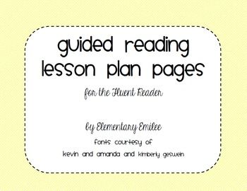 guided reading lesson plans reading lesson plans and guided reading lessons on pinterest. Black Bedroom Furniture Sets. Home Design Ideas