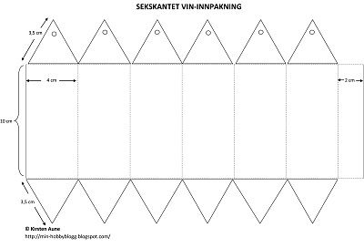 Kirstens Blogg: Innpakning for vinflaske   Packaging for a bottle of wine