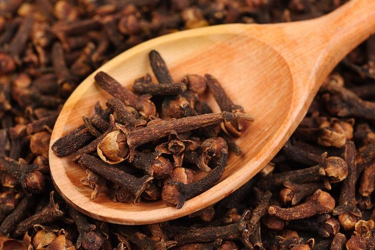 They might be tiny, but cloves are giants when it comes to nutrition and natural health. Clove is a nutrient-dense spice, to say the least. It is packed with omega-3 fatty acids, fiber, and is rich in minerals (especially Magnesium) and vitamins. Minerals found in clove include iron, magnesium, phosphorus, potassium, sodium, zinc and calcium. The vitamins in clove include thiamin, riboflavin, Vitamin C, niacin, folate, vitamin B6, vitamin B12, vitamin A, vitamin E, vitamin K and vitamin D.