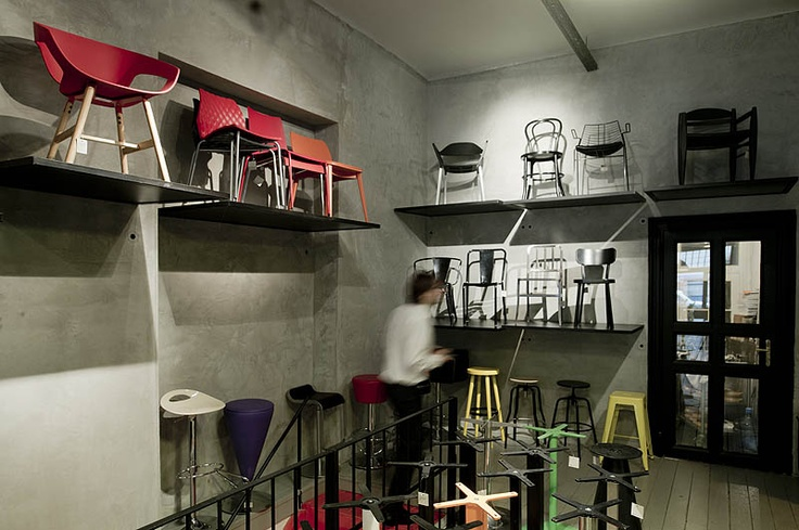 Basic Collection Showroom, Budapest  #basic collection #showroom #budapest #furniture #design #chair