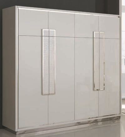 Italian design bedroom furniture wardrobe modern clothes cabinet   modern  home furniture J001 US $2,200.00