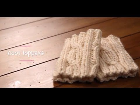 1 Hour Project: Boot Toppers with Stefanie Japel
