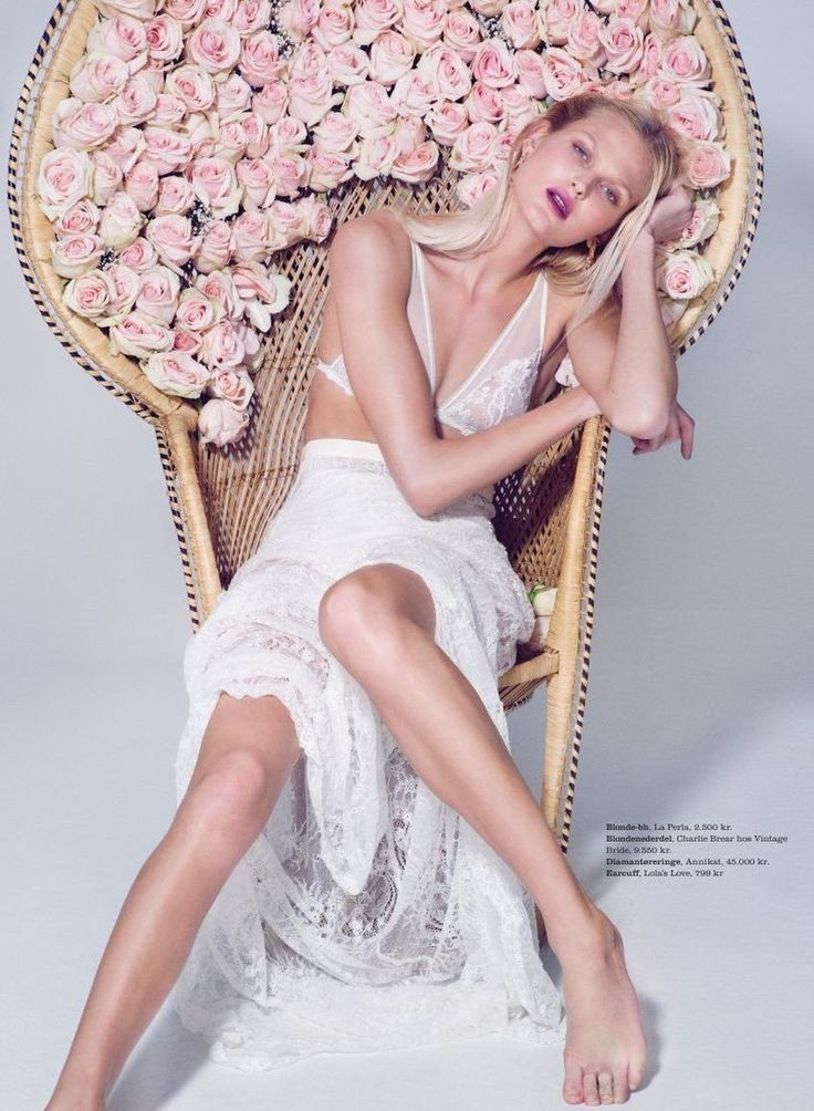Charlie Brear lace skirt @ Maria Fekih, featured in ELLE Denmark #marts 2014 captured by photographer Olivia Frølich