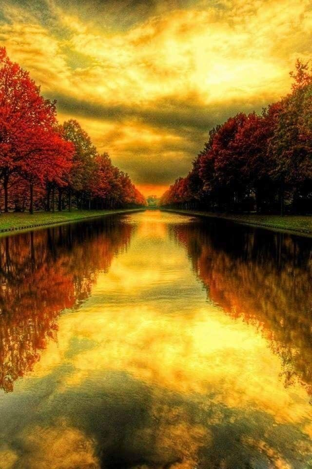 Landscape Perspective Beautiful Landscapes Fall Wallpaper Scenery