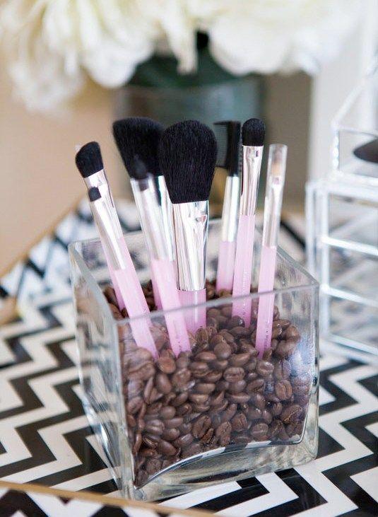 Make-up brushes storage | Make-up kwasten opbergen