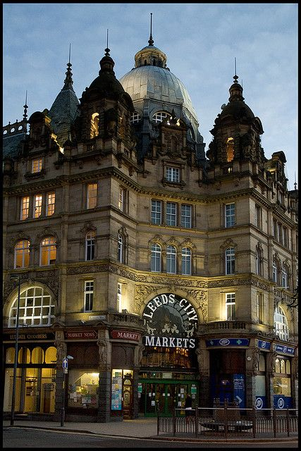 My favourite building in the city of Leeds Leeds Leeds. Leeds City Market.