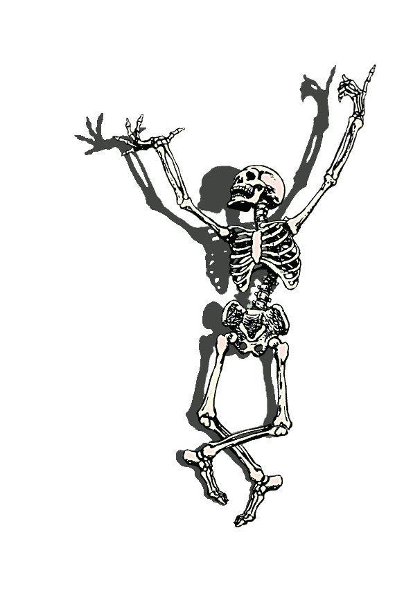 гиф с скелетами пока вернулись
