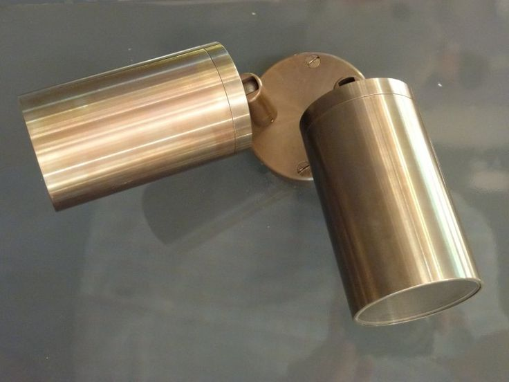 Lumina8004 Double adjustable aged bronze spotlights - Price: $489.00 AUD
