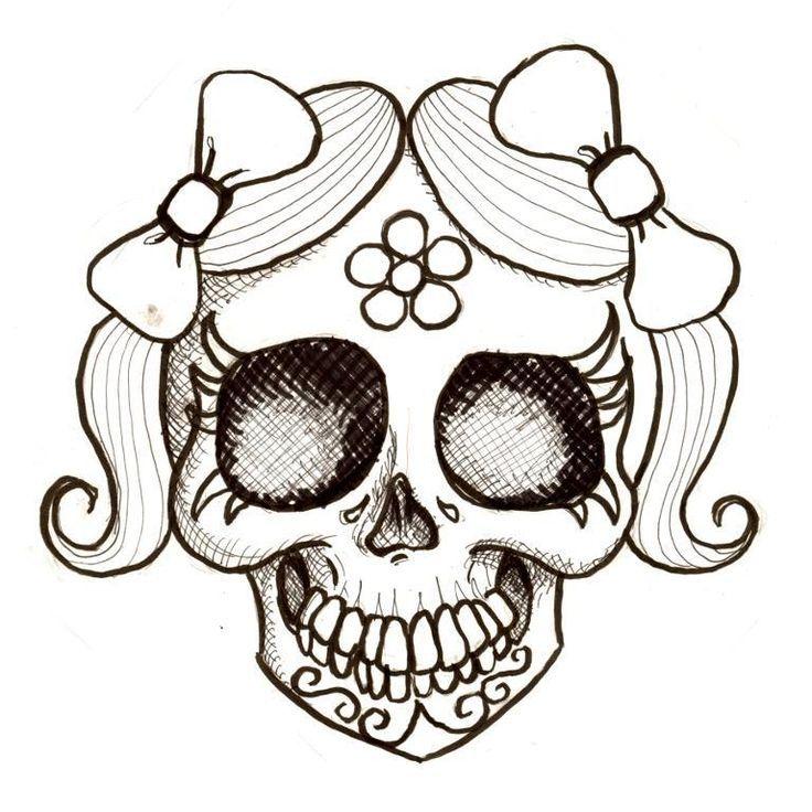 Day Of The Dead Girl Jaunita Pattern On Craftsy Com Desenho