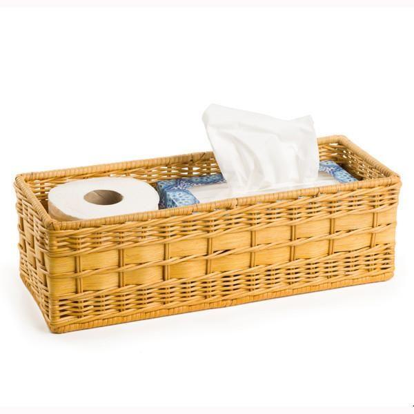 Wicker Toilet Tank Basket Toilet Tank Woven Baskets Storage Bathroom Basket Storage