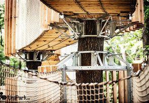 3D bludiště - unikátní lanový park - foto | Unipark