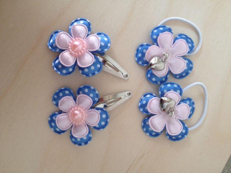 Blauw-roze setje