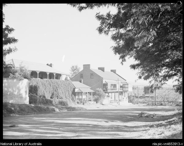 Houses of Thompson Square, Windsor, New South Wales, ca. 1935