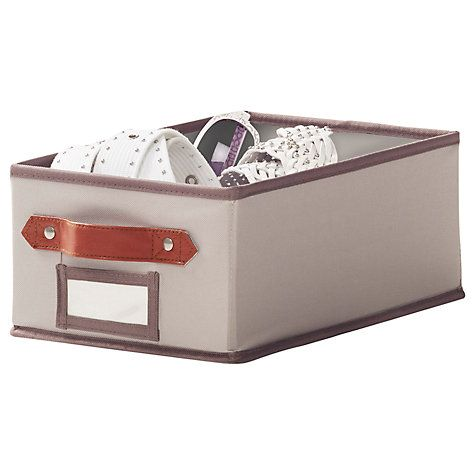 Buy neatfreak closetMAX Greystone Collection Collapsible Storage Box, Small Online at johnlewis.com
