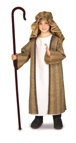 Child's Shepherd Costume, Medium Rubie's Costume Co  Carrie- Shepards 14.71- this seems a little more updated than what we have!