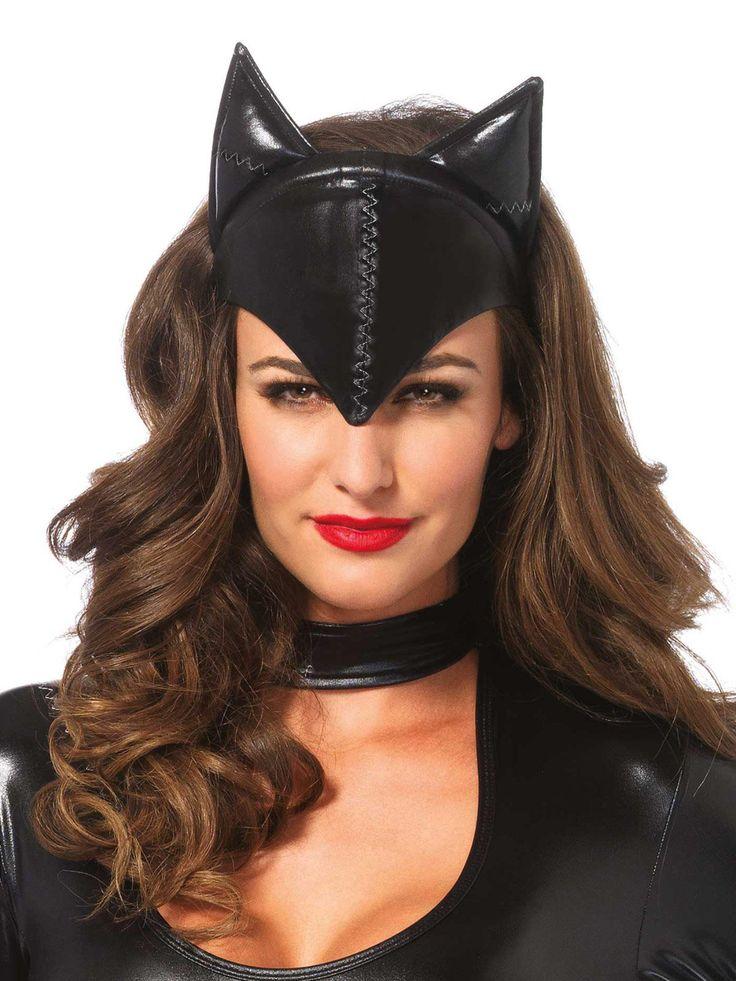 Verruchte Katze Halbmaske schwarz, aus unserer Kategorie Karnevalsmasken. Die Katzen-Halbmaske ist nichts für #Schmusekatzen! Die Gesichtsmaske in Lackoptik ist ein echter Hingucker und verwandelt jede Dame in eine attraktive #Katzenfrau. Wer weiß, vielleicht findet sich mit Hilfe dieser Maske auch ein netter Herr, der das Kätzchen zum Schnurren bringen kann?