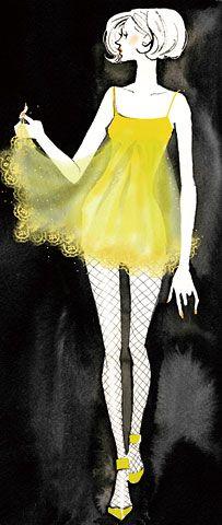 Kaori Yoshioka イラストレーター イラスト制作のアスタリスク